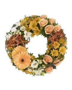 Sympathy Pastel Wreath