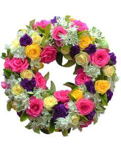 Roses Wreath Large